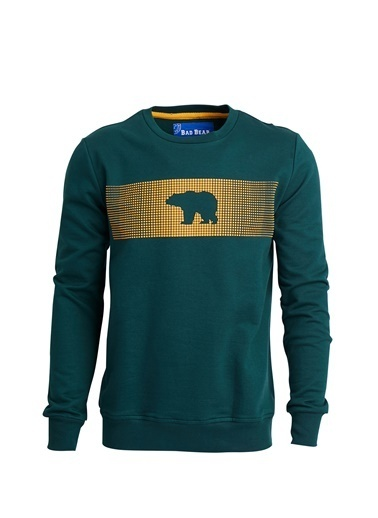 Bad Bear Sweatshirt Yeşil